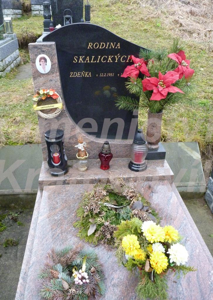 urnový hrob multikolor orinoco nero