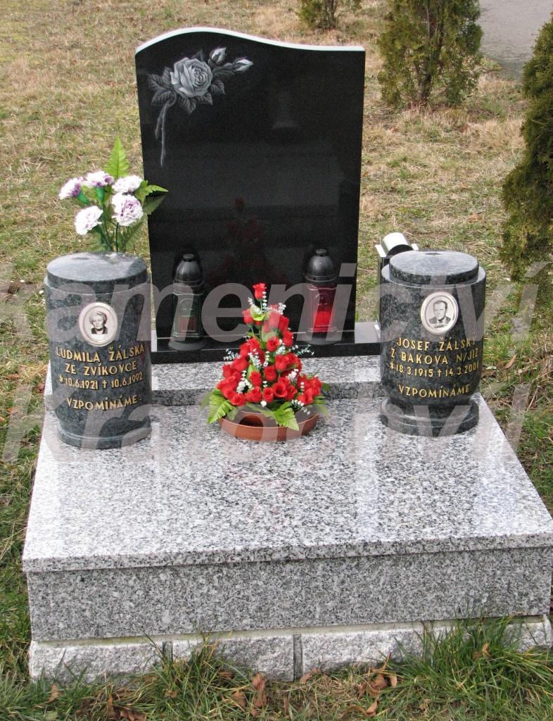 urnový hrob tarn nero 676